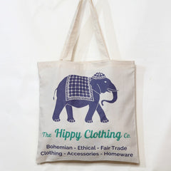 The Hippy Clothing Co. Canvas Shopper Bag
