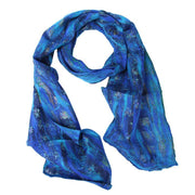 Felted Silk Scarves