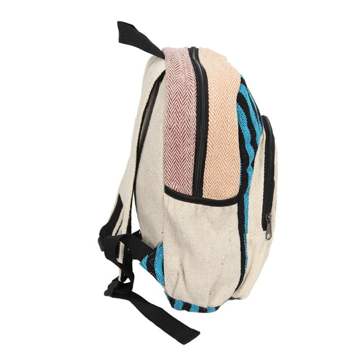 Hemp Backpack with Screen Print