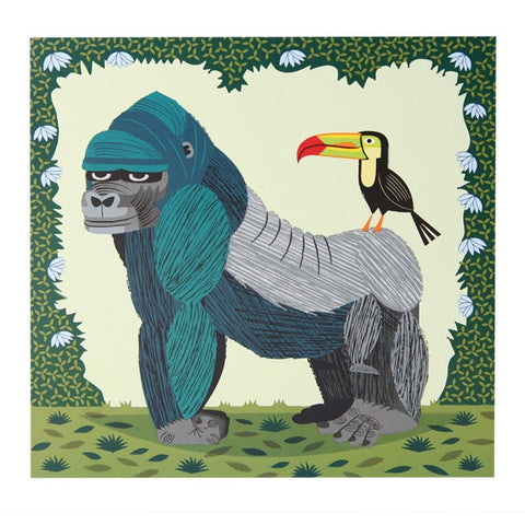 Gorilla & Toucan Play At That Card