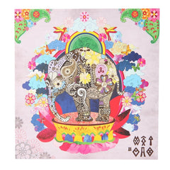 Blossoming Elephant Greeting Card