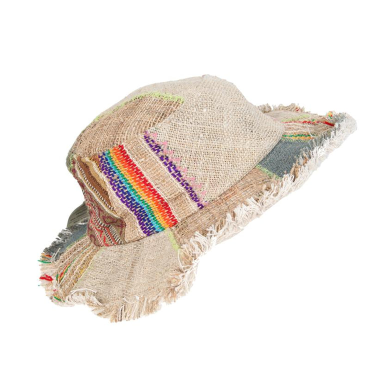 Hemp Patchwork Hat
