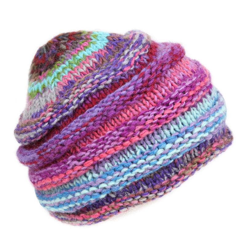 Woollen Ribbed Hat