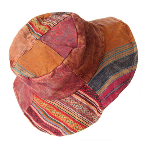 Patchwork Sun Hat