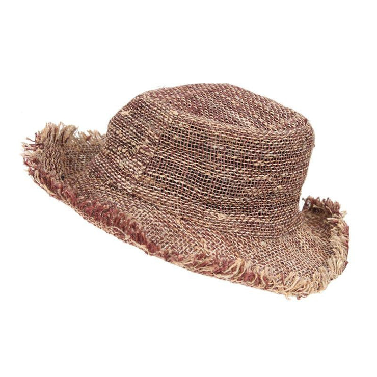Men's Wire Rim Hemp Sun Hat
