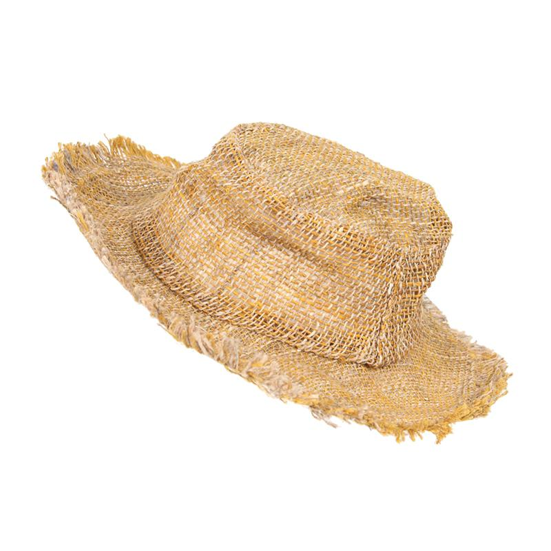 Wire Rim Hemp Sun Hat