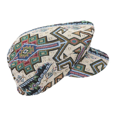 Gheri Cotton Flat Cap