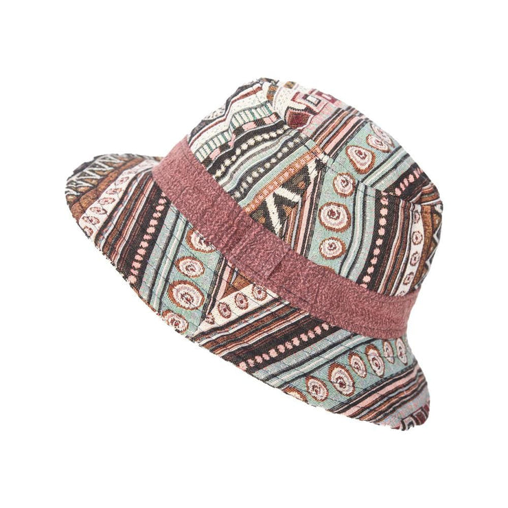 Gheri Cotton Short Brim Hat