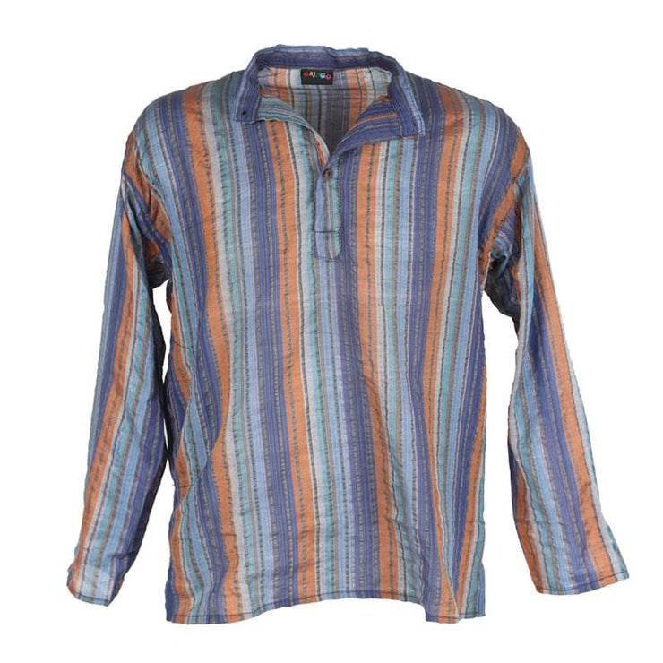 Mens Seersucker Shirt