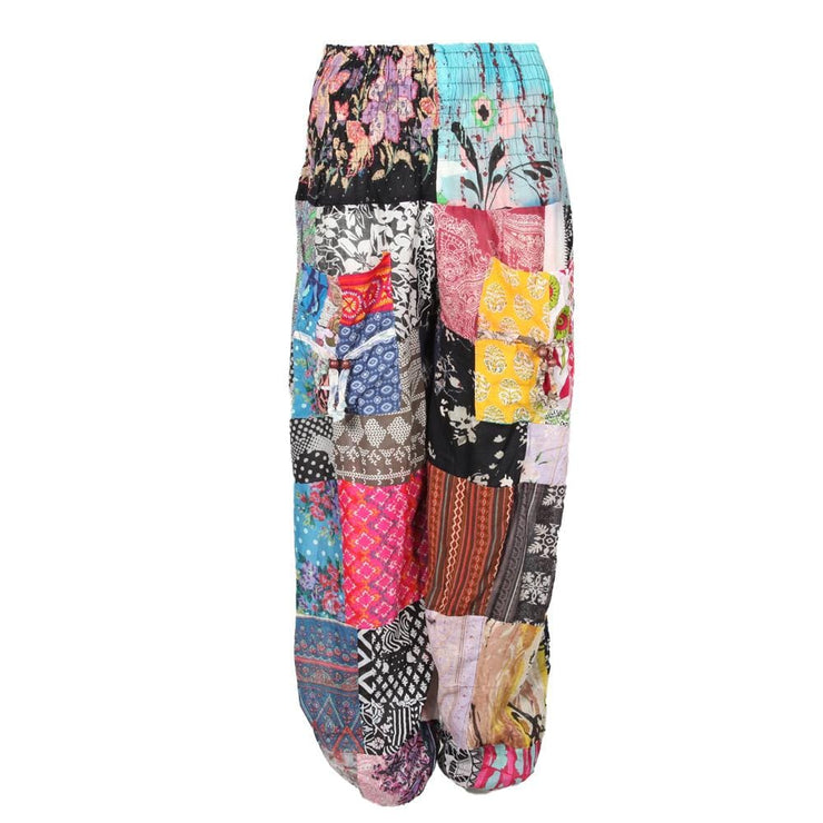 Indian Cotton Patchwork Harem Pants