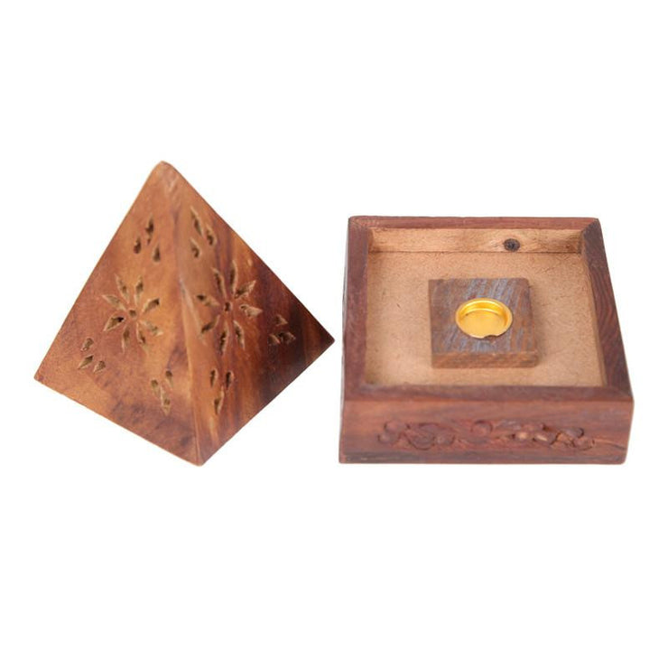 Pyramid Incense Cone Box