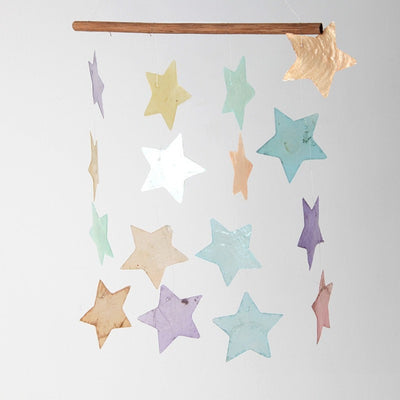 Multi Pastel Star Mobile