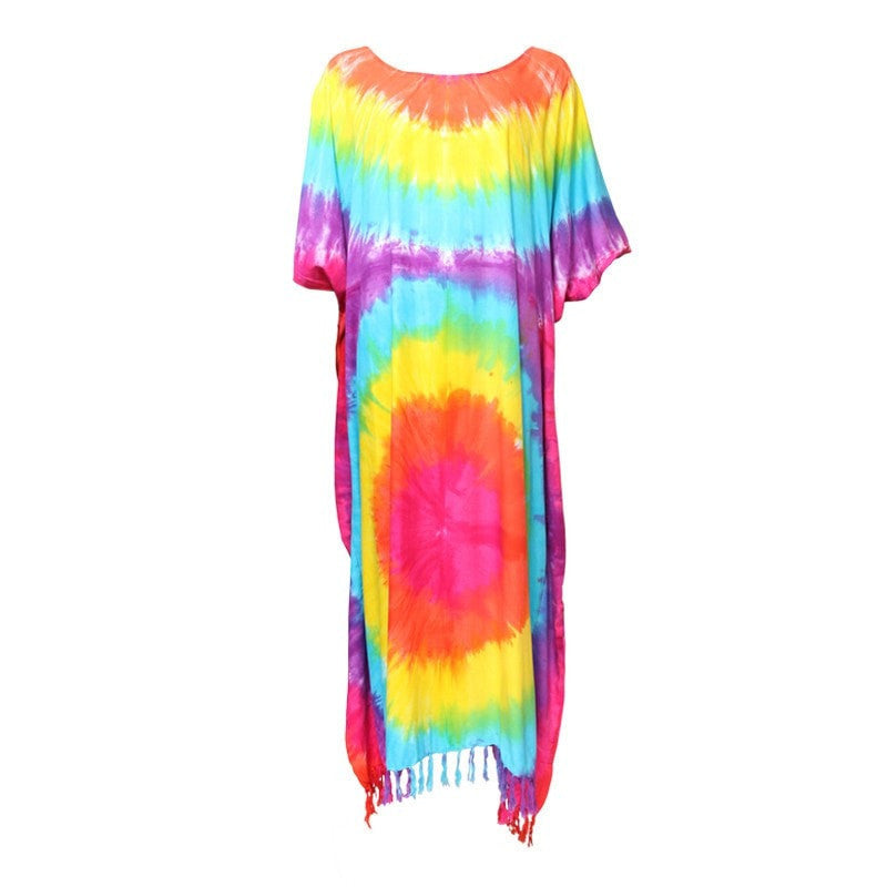 Maxi Kaftan Beach Dress