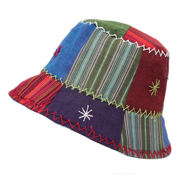 Men's Patchwork Bucket Hat