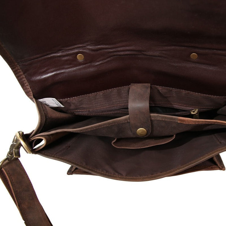 Men's Leather Satchel