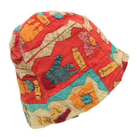 Men's Abstract Nepalese Bucket Hat