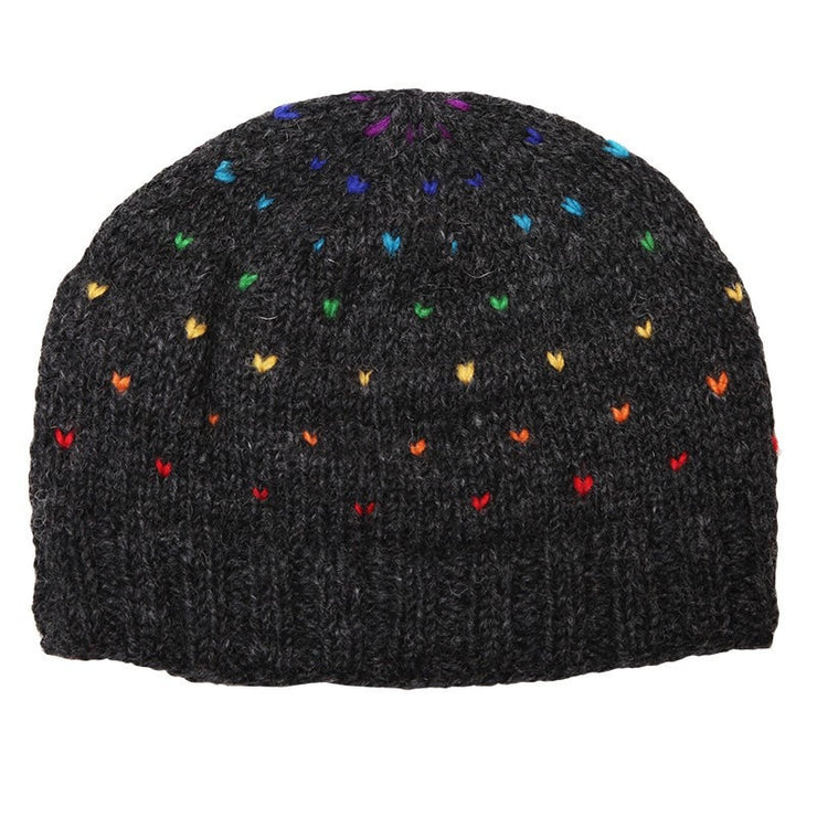 Rainbow Flecks Beanie Hat