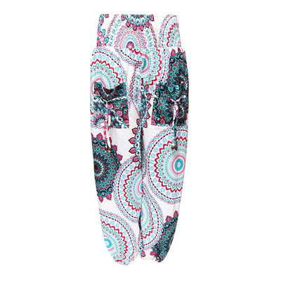 Moroccan Patterned Genie Pants