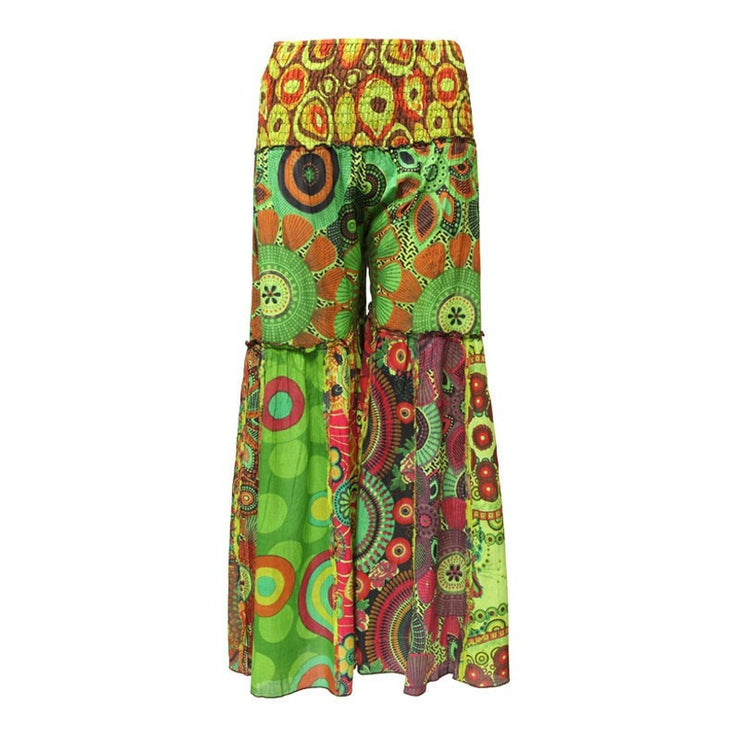 Festival Bell Bottom Flare Trousers
