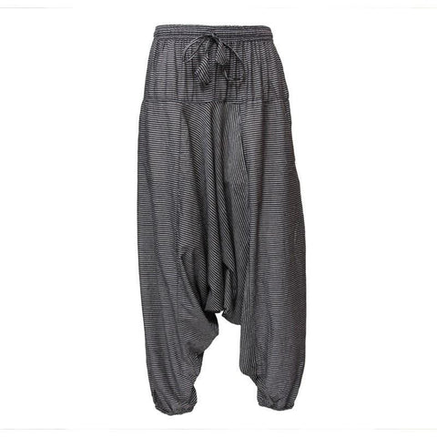 Striped Lounge Jogger Harem Pants