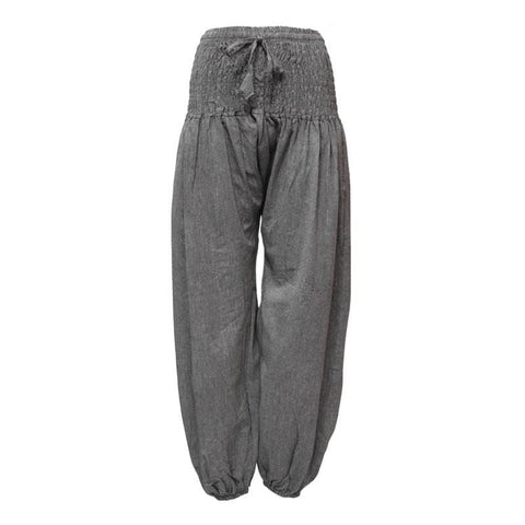 Men's Plain Aladdin Harem Trousers