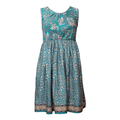 Mixed Ditsy Print Skater Dress