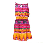 Indian Summer Halter Dress