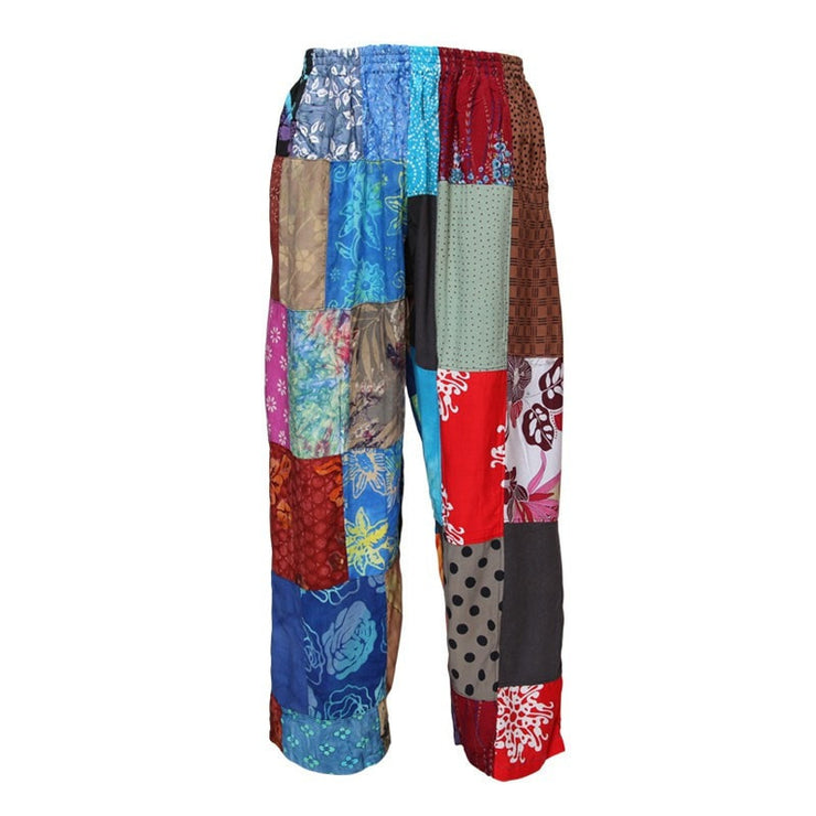 Festival Rayon Straight Leg Trousers