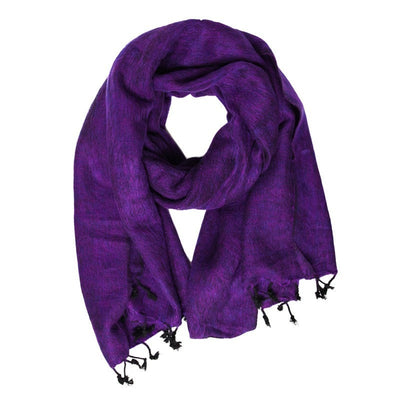 Large Soft Recycled Wool Scarf