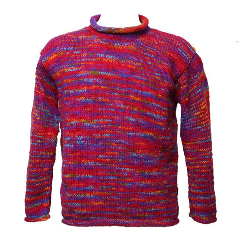 Men's Oversized Wool Jumper