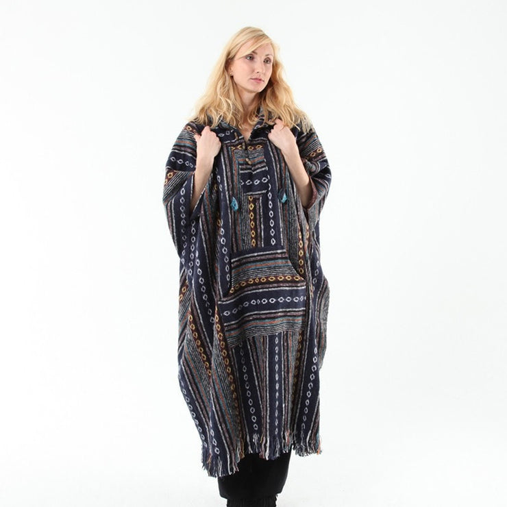 Nepalese Maxi Poncho