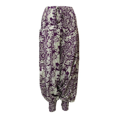 Elephant Print Thai Pants