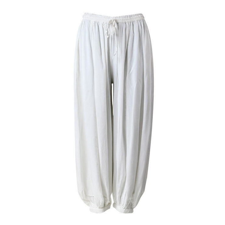Men's Plain Viscose Jogger Harem..