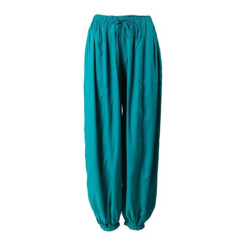 Plain Viscose Jogger Harem Trousers