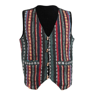 Brushed Cotton Toggle Up Waistcoat