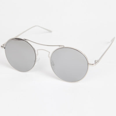 Round High Bar Sunglasses