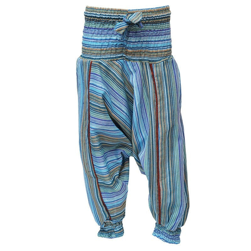 Kid Striped Harem Pants
