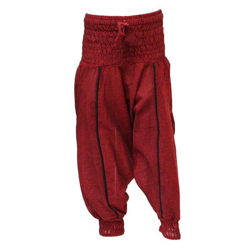 Children's Plain Harem Pants