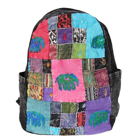 Men's Elephant Embroiderer Rucksack