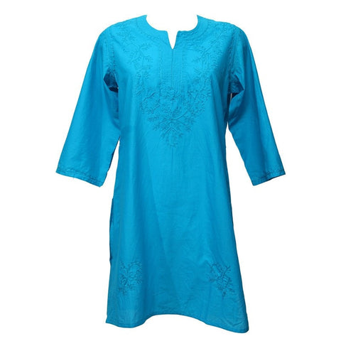Longline Embroidered Kurti