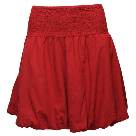 Puffball Mini Skirt