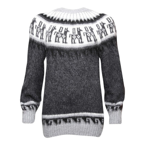 Men's Alpaca Mix Peruvian Jumper