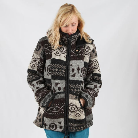 navajo hooded jacket