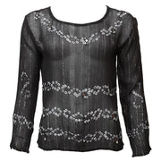 Lurex Mirrors & Bells Blouse