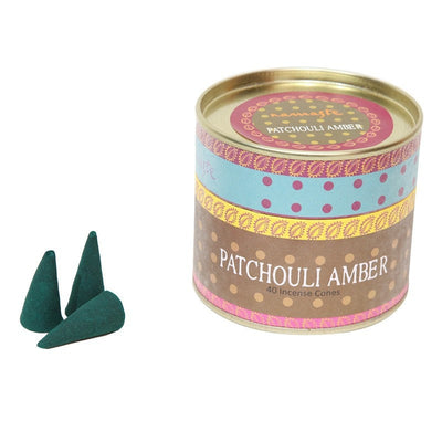 Patchouli Amber Incense Cones