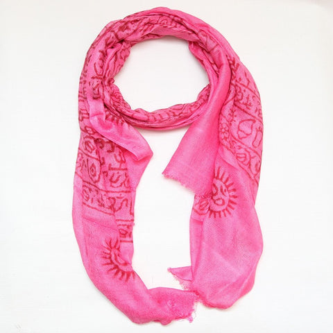 Gringo Indian Om Scarf