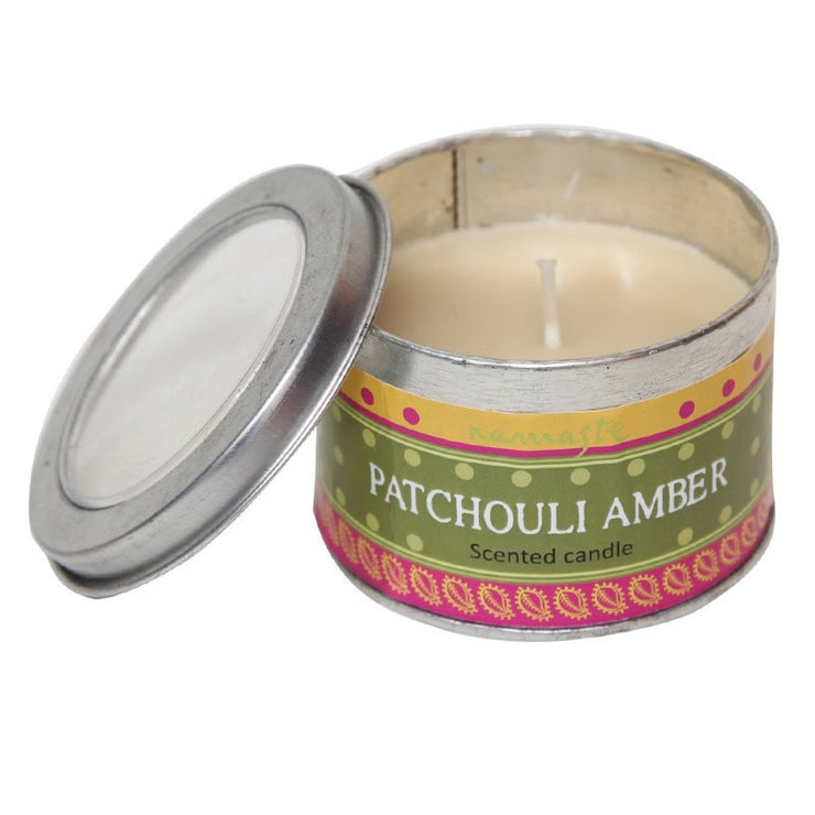 Patchouli Amber Scented Candle