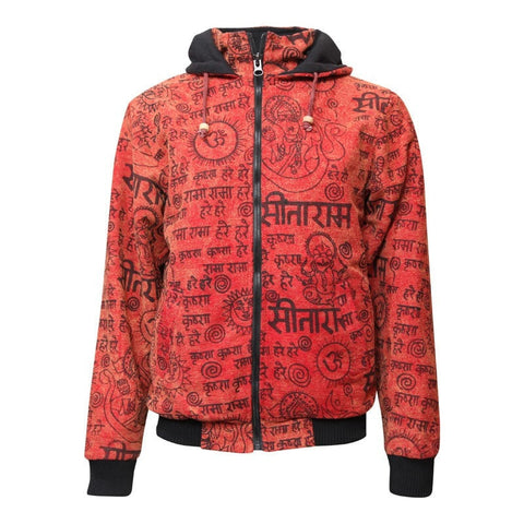 Nepalese Bomber Jacket with Hood