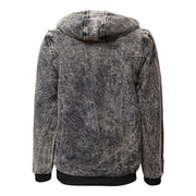 Acid Wash Fleece Lined Hoodie