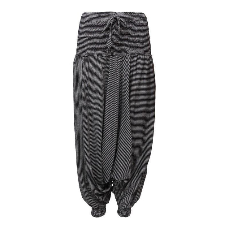 Men's Striped Cotton Aladdin Pants